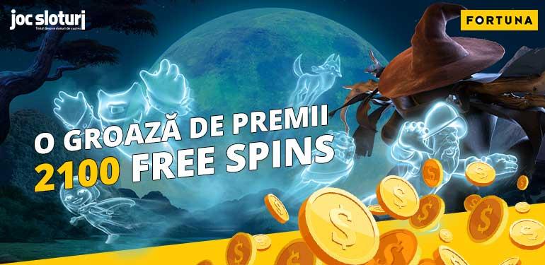 Halloween cu 2100 Free Spins Fortuna