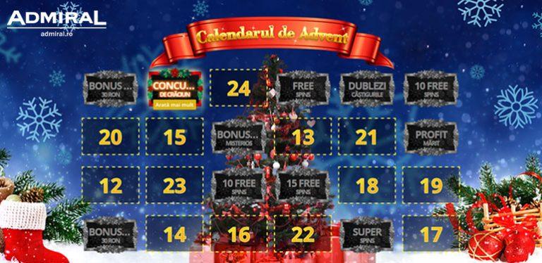 Calendarul de Craciun Admiral