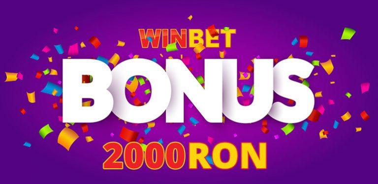 2.000 RON Bonus Winbet