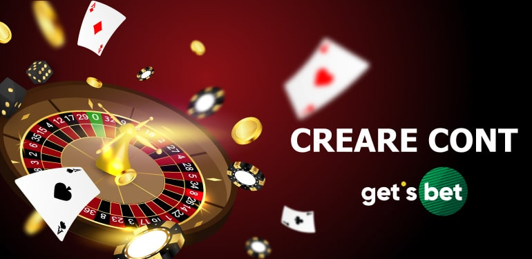Creare cont Gets Bet